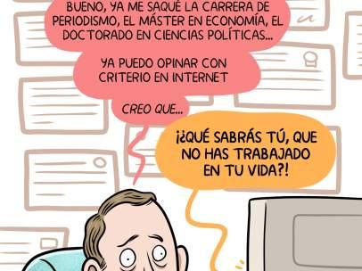 Opinar en internet