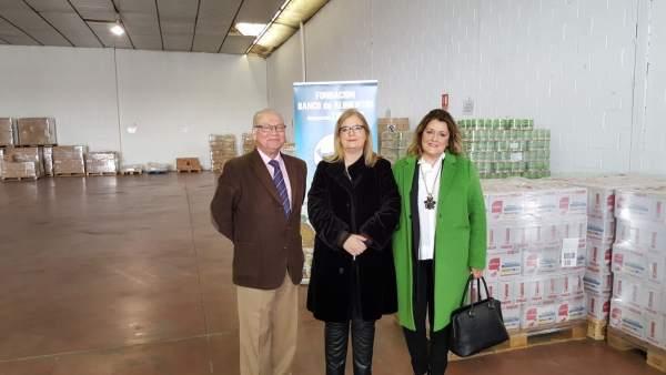 Mooina (c) informa sobre la tercera fase del programa de ayuda alimentaria 2017.
