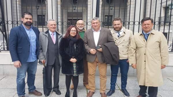 Alcaldes de Cartaya y Punta Umbría se reúnen con Costas en Madrid.