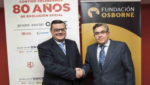 La Fundación Osborne y Fundación ONCE se unen en materia de accesibilidad a favo