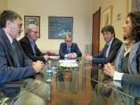 El alcalde de Lleida se reúne con la junta de SCC