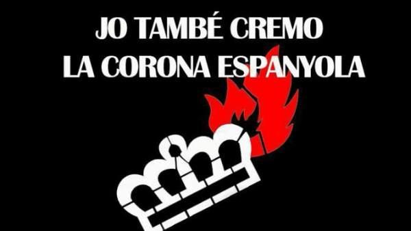 Convocatoria en Banyoles tras la sentencia del TEDH por quema de fotos del Rey