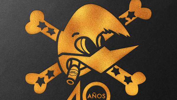 Cartel del próximo concierto del Loquillo en el Palau Sant Jordi.