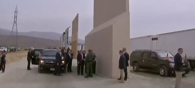 Trump elige su muro