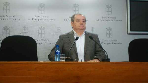 El portavoz de Ciudadanos, Nicanor García, en rueda de prensa el 14/03/2018