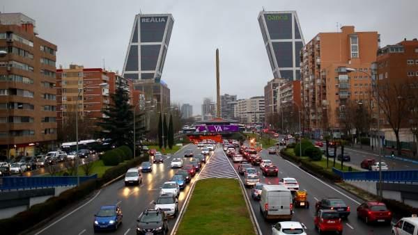 Túnel de Plaza de Castilla