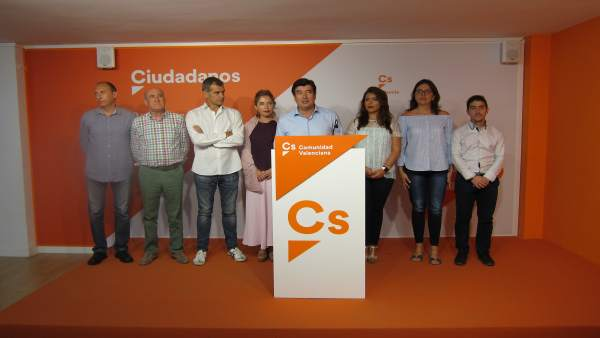 Ciudadanos tras la reunión del comité autonómico
