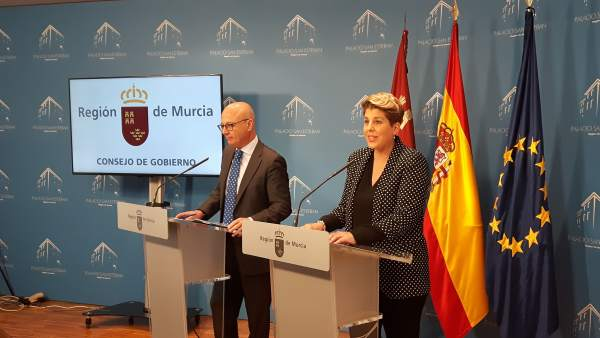 La Portavoz Del Gobierno Regional, Noelia Arroyo, En La Rueda De Prensa