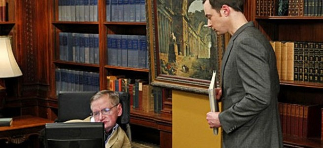 Stephen Hawking en 'The Big Bang Theory'