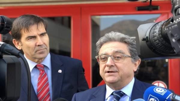 El delegado del Gobierno Enric Millo en Roses (Girona)