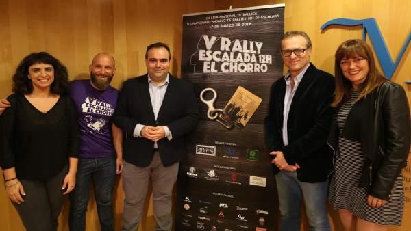 Presentación del rally El Chorro