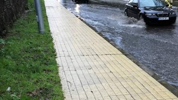 Balsa de agua en Vigo