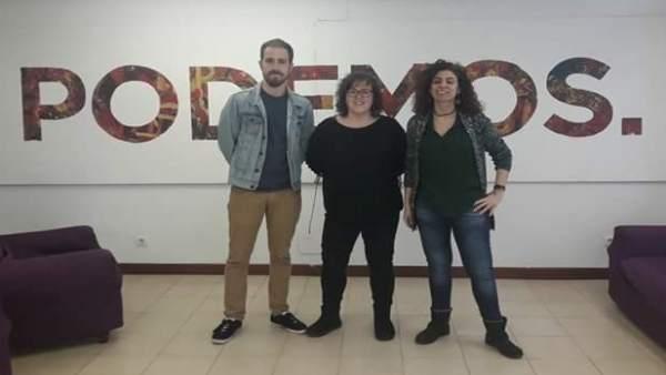 Del Piñal, Ordóñez y Alonso, candidatos a la secretaría general de Podemos
