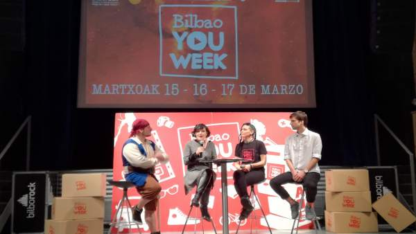 Presentación de la tercera edición de 'Bilbao You Week'