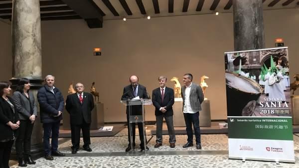 Presentación de la Semana Santa de Zaragoza