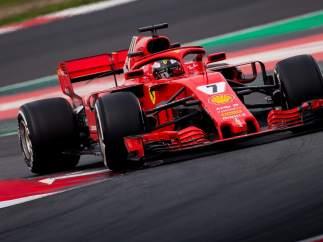 El Ferrari 2018, en acción