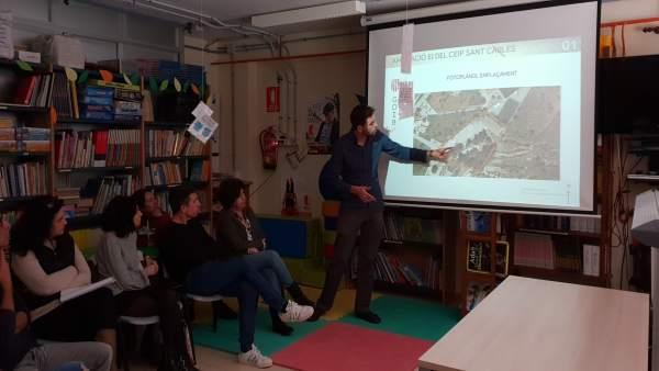 Presentación ampliación CEIP Sant Carles de Ibiza