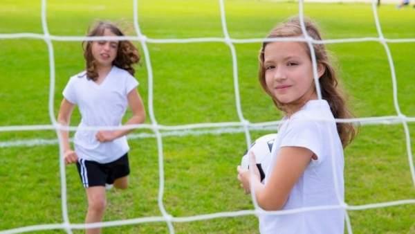 Niñas y fútbol