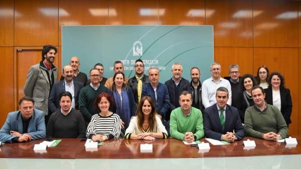 Entrega resoluciones Guadalingo en Cádiz