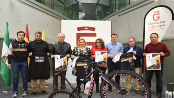 Presentación circuito provincial de bicicleta de montaña de Diputación