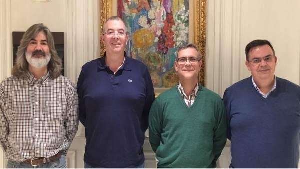 Miembros fundadores de la Cátedra