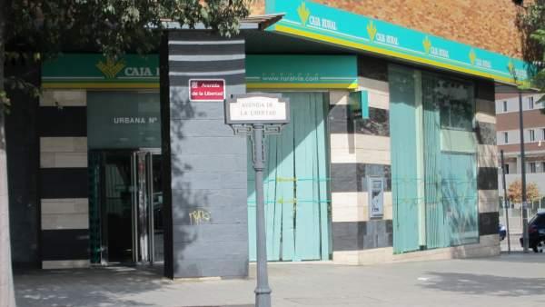 Oficina de la Caja Rural del Sur en Córdoba capital