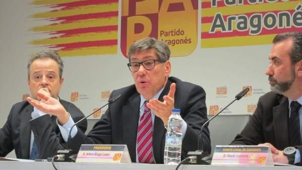 Arturo Aliaga, Presidente Del PAR