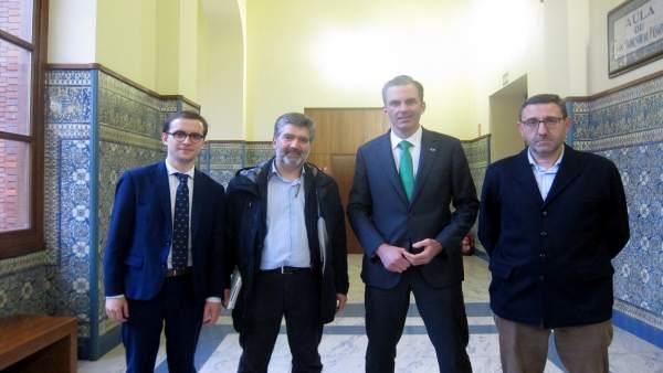 Benavides, Cosidó, Ortega y Francisco Ferreira. 14-03-18