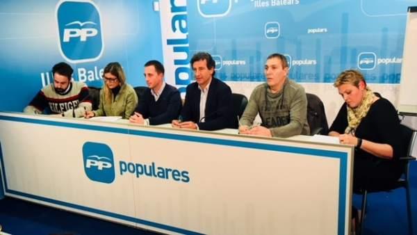Junta Directiva PP de Mallorca
