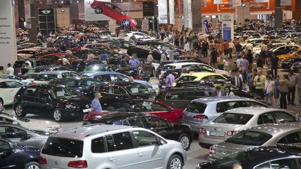 Feria de vehículos de ocasión