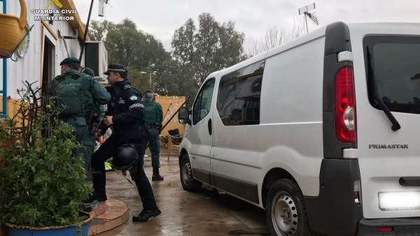 Nota De Prensa Y Fotografías Guardia Civil