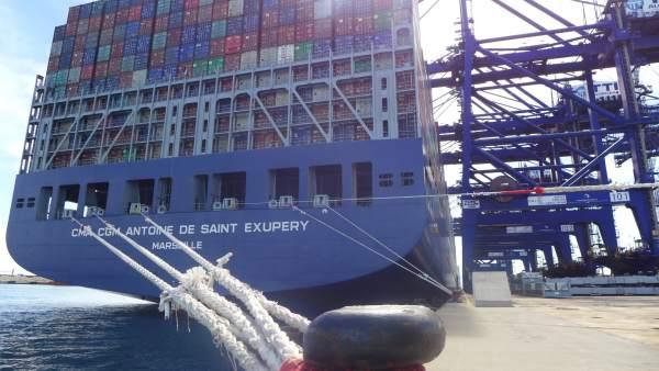 Puerto De Algeciras. Tráficos Febrero 2018