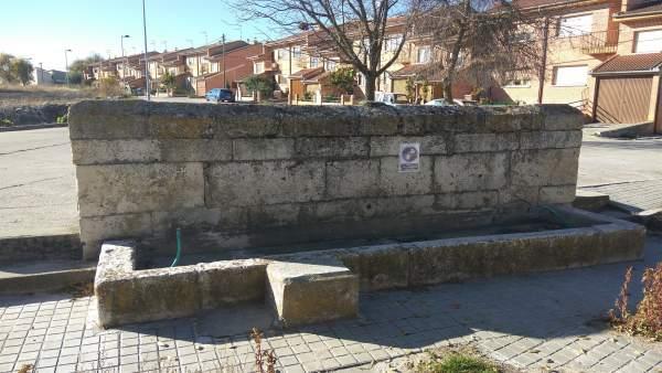 Fuente Blanca, en Hontalbilla.