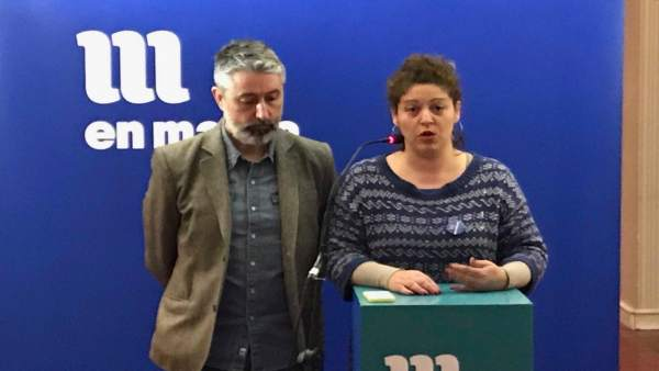 Ana Seijas y Gonzalo Rodríguez presentan el plenario de En Marea del 17 de marzo