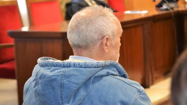 Bartolomé Cursach en el juicio contra él por tenencia ilícita de armas