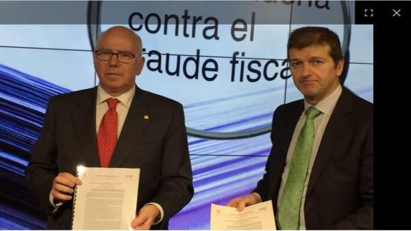 José María Iruarrizaga y Aitor Soloeta presentan el plan contra el fraude 2018