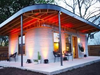 Una casa impresa en 3D que se fabrica en un día