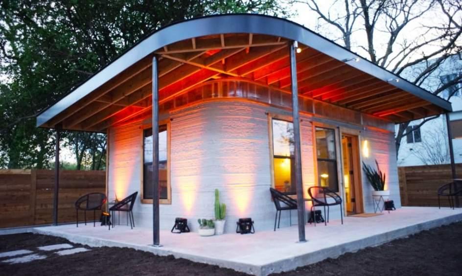 Foto una casa que se construye en un d a una casa for Construye tu casa en 3d