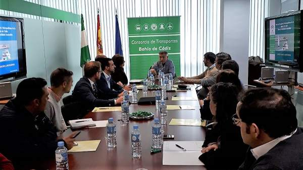 Reunión para el Plan de Movilidad Sostenible de la Bahía de Cádiz