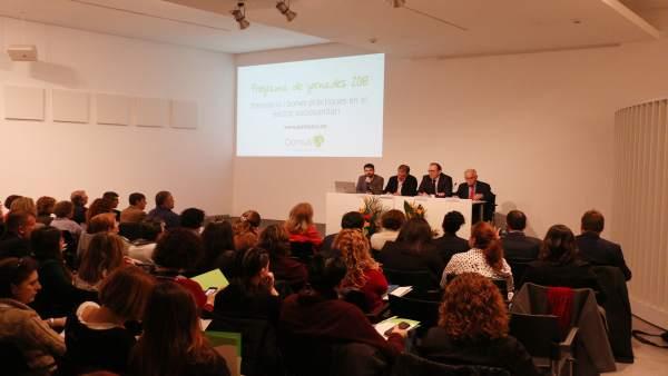 Encuentro sociosanitario organizado por DomusVi en Palma