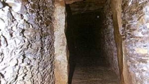 Corredor del dolmen de La Pastora