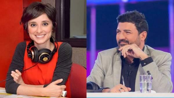 Tony Aguilar Y Julia Varela Comentaristas De Eurovision 2018