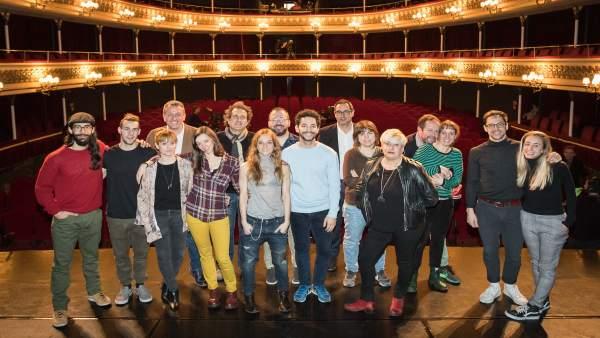 Actores de la obra 'Penélope'