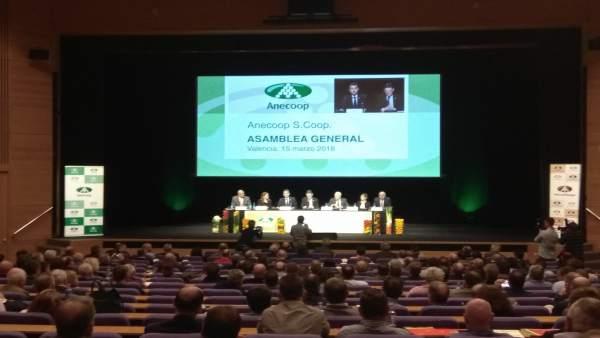 Clausura Asamblea General de Anecoop