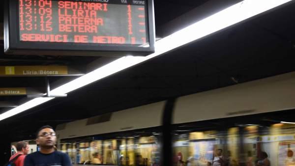 Metro en movimiento, Metrovalencia, convoy, metro, FGV