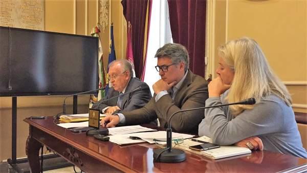 El portavoz del Pp enel Ayuntamiento de Cádiz, Ignacio Romaní
