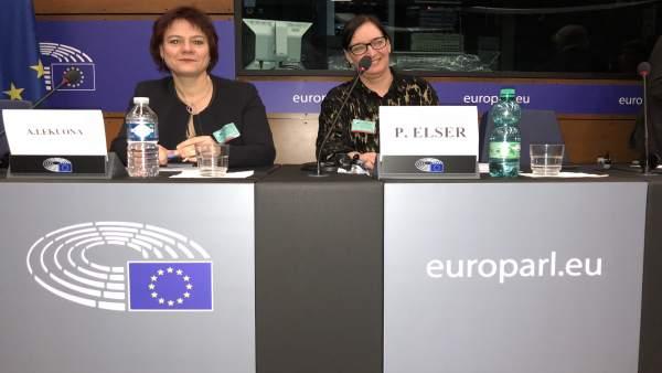 Arantza Lekuona y Petra Elser