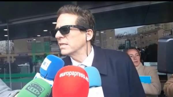 El abogado de la acusada del crimen de Gabriel, Esteban Hernández Thiel