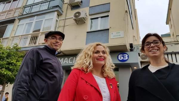 Ramos, Zorrilla y Sánchez de IU