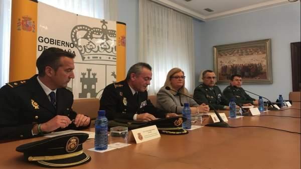 Presentación en Jaén de los Interlocutores Policiales Territoriales Sanitarios.